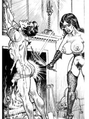 Kinky batman loves fucking catwoman using various bdsm tools in dirty xxx comics